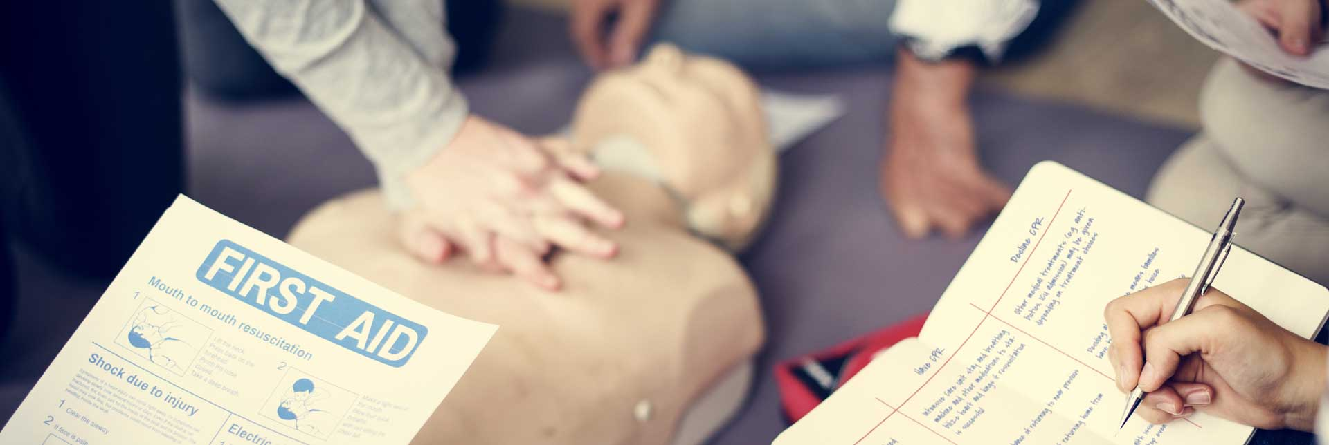 First Aid Cpr Training Program Training