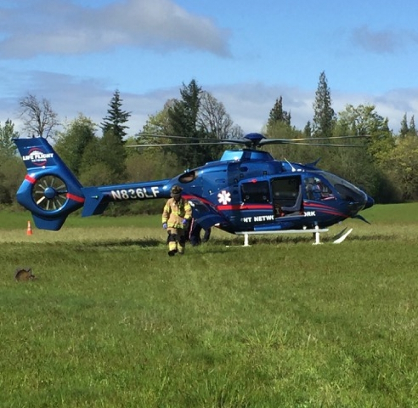 Construction worker injured at Ridgefield job site flown to hospital