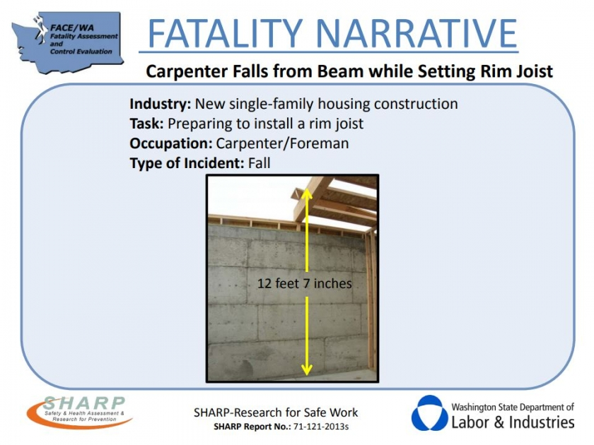 Fall Protection Training Could have Prevented this Accident